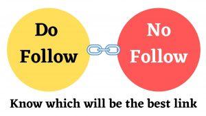 Do Follow - No Follow